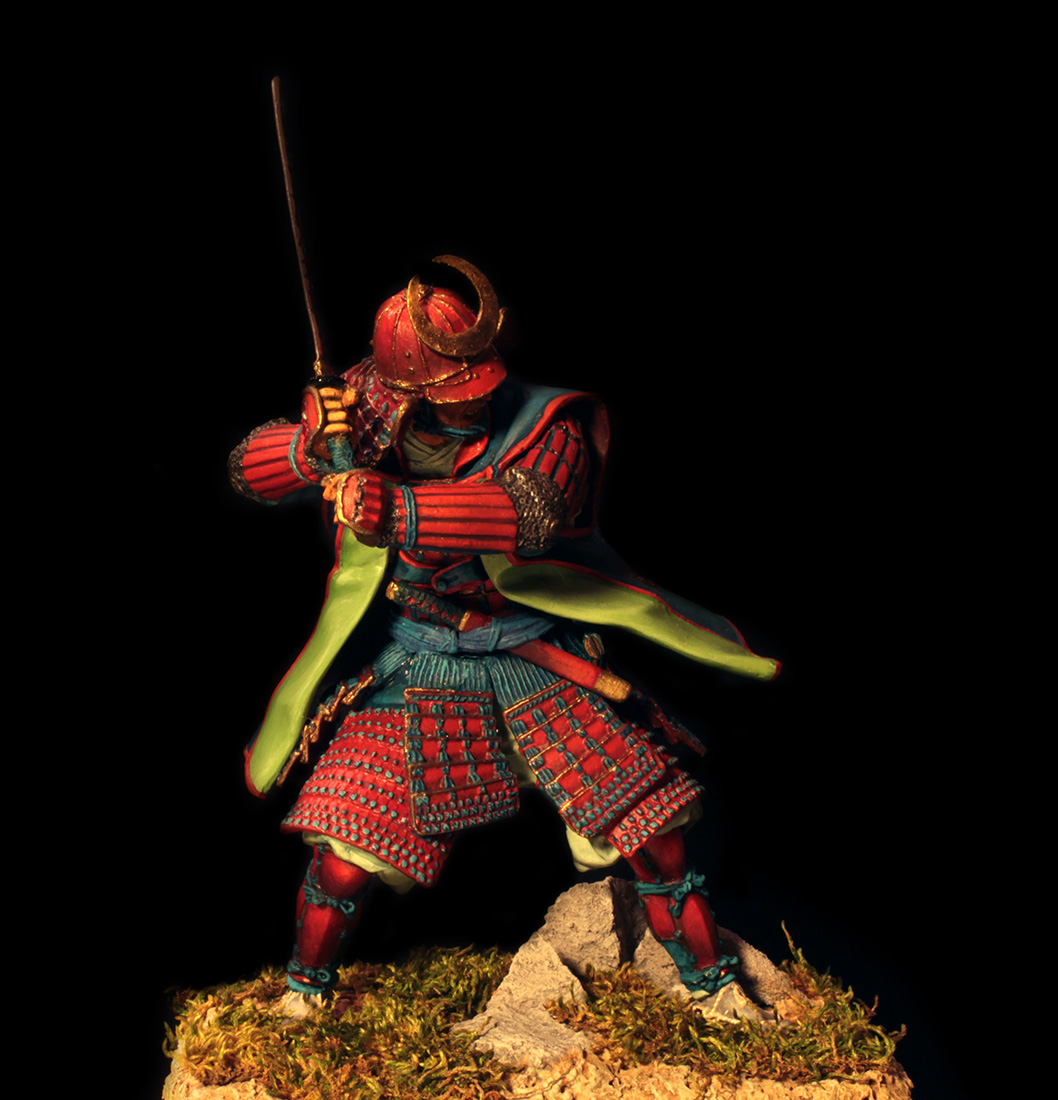 Figures: Samurai, XVI cent., photo #9