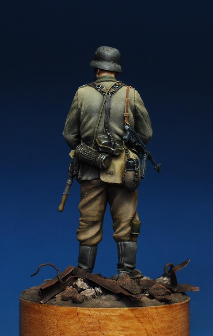 Figures: German infantryman. Stalingrad, 1942, photo #4