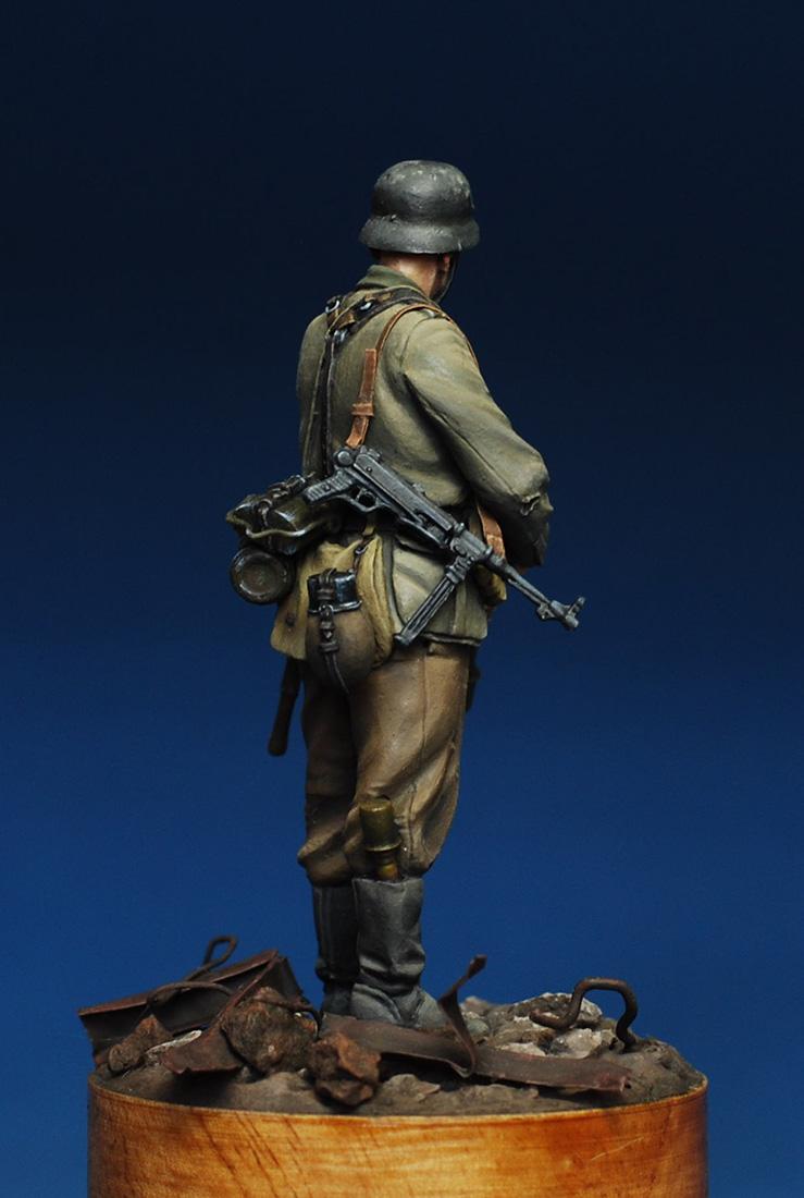 Figures: German infantryman. Stalingrad, 1942, photo #5