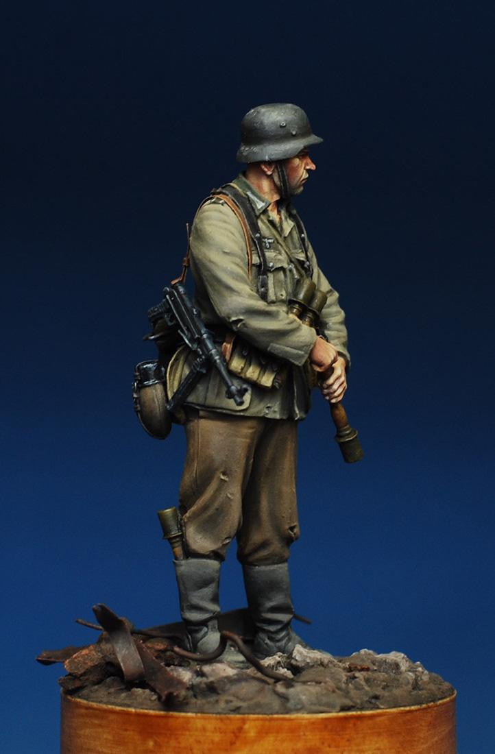 Figures: German infantryman. Stalingrad, 1942, photo #6