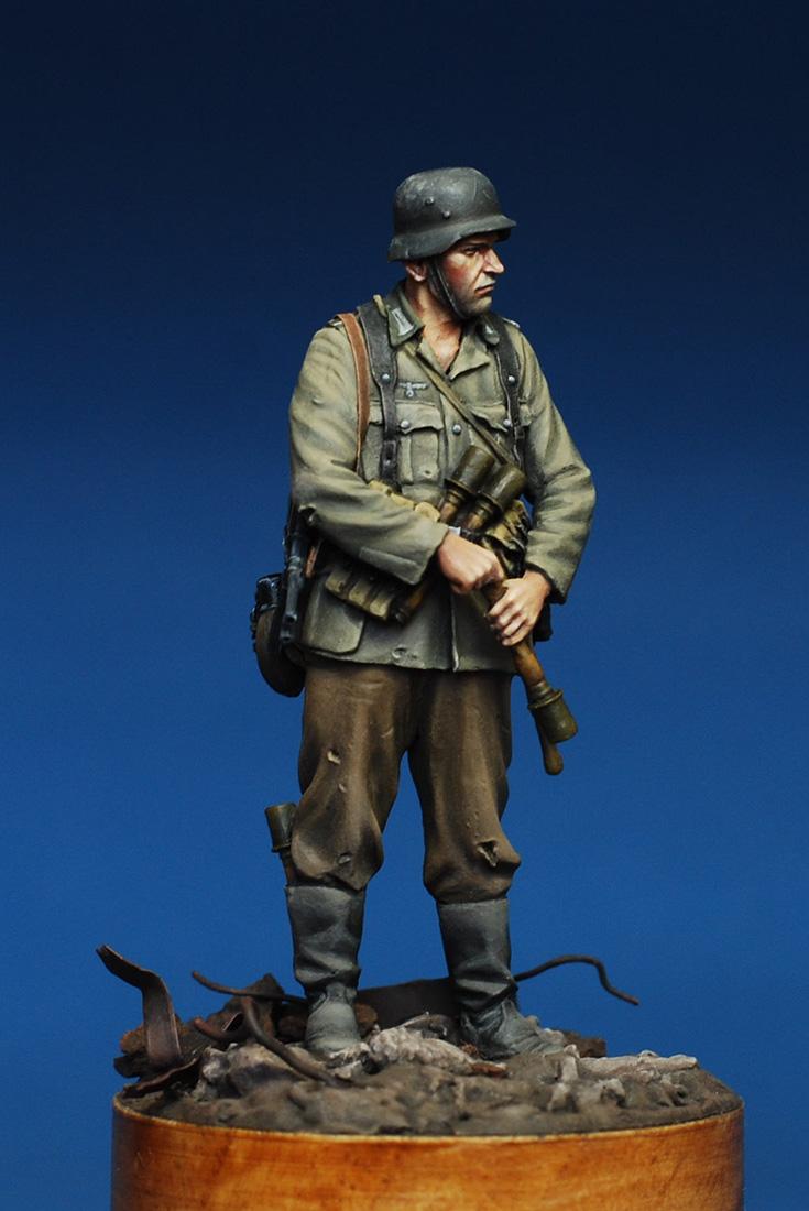 Figures: German infantryman. Stalingrad, 1942, photo #7