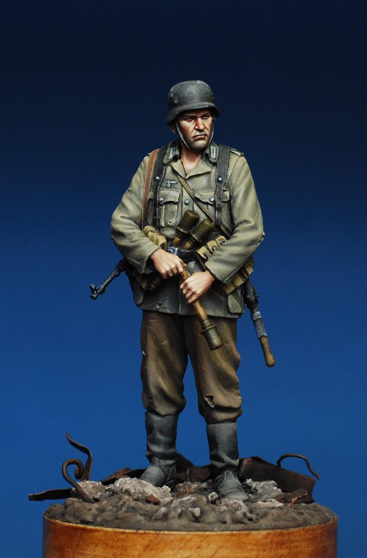 Figures: German infantryman. Stalingrad, 1942, photo #8