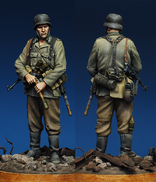 Figures: German infantryman. Stalingrad, 1942