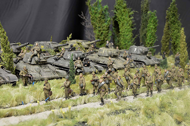 Dioramas and Vignettes: Hot Summer of 1943