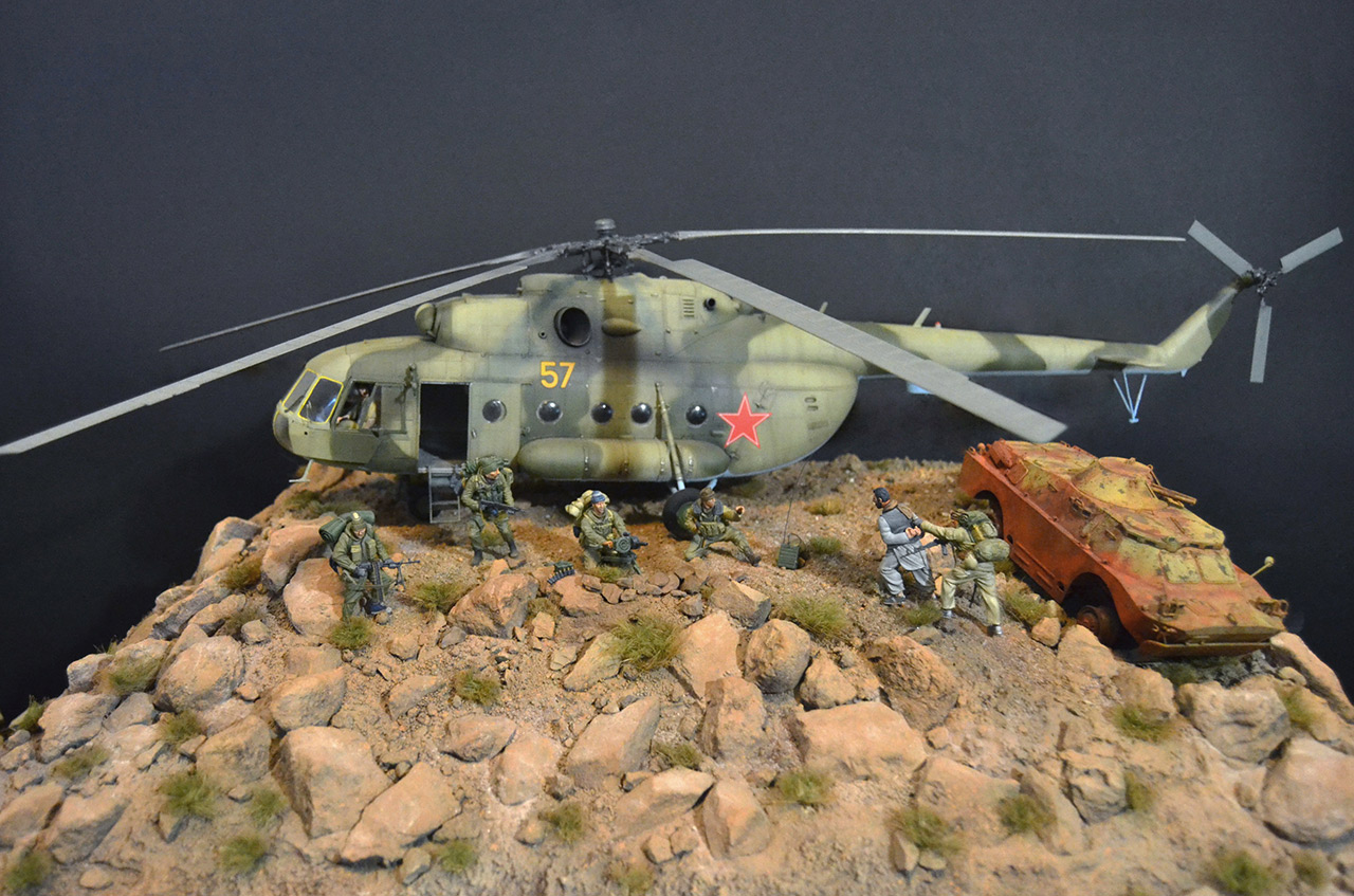 Dioramas and Vignettes: GRU special forces in Afghanistan, photo #1