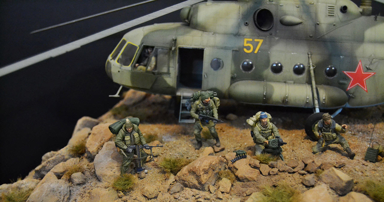 Dioramas and Vignettes: GRU special forces in Afghanistan, photo #10