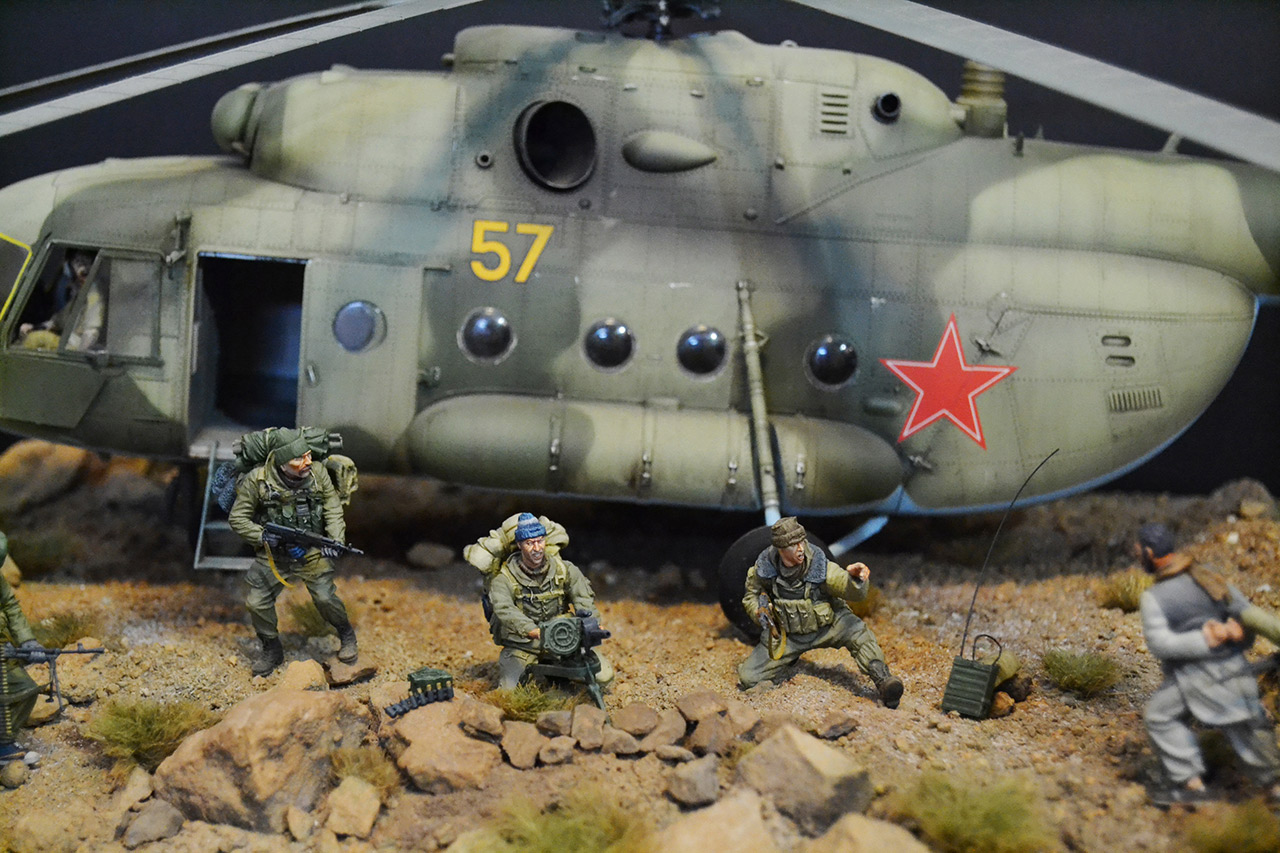 Dioramas and Vignettes: GRU special forces in Afghanistan, photo #11