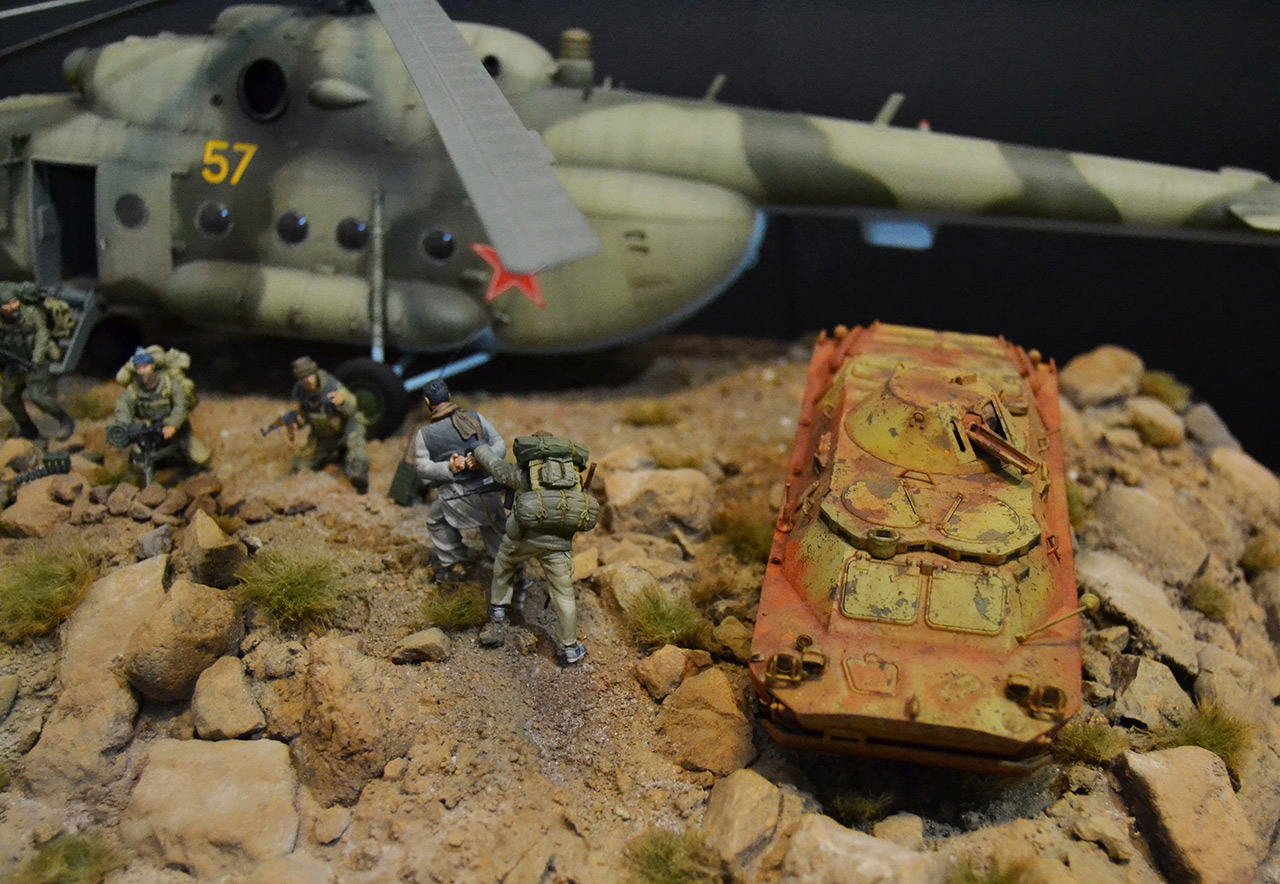 Dioramas and Vignettes: GRU special forces in Afghanistan, photo #12