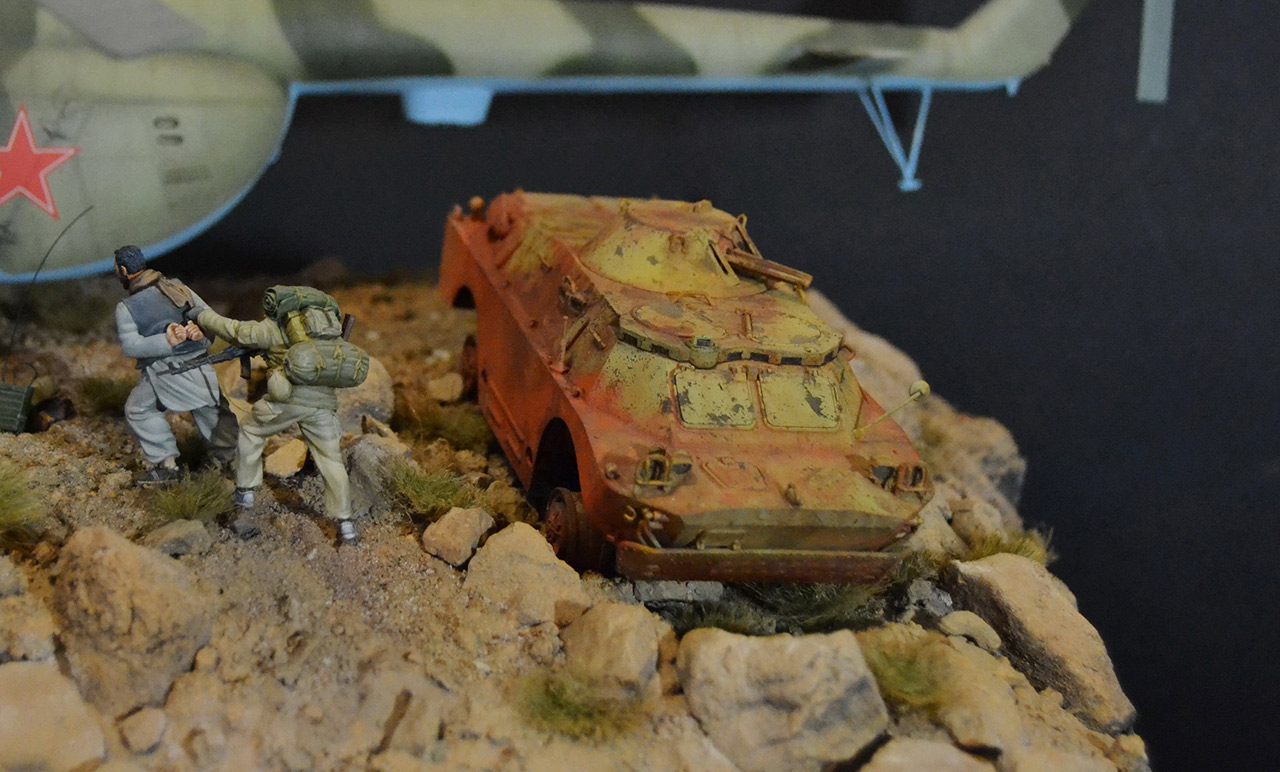 Dioramas and Vignettes: GRU special forces in Afghanistan, photo #13