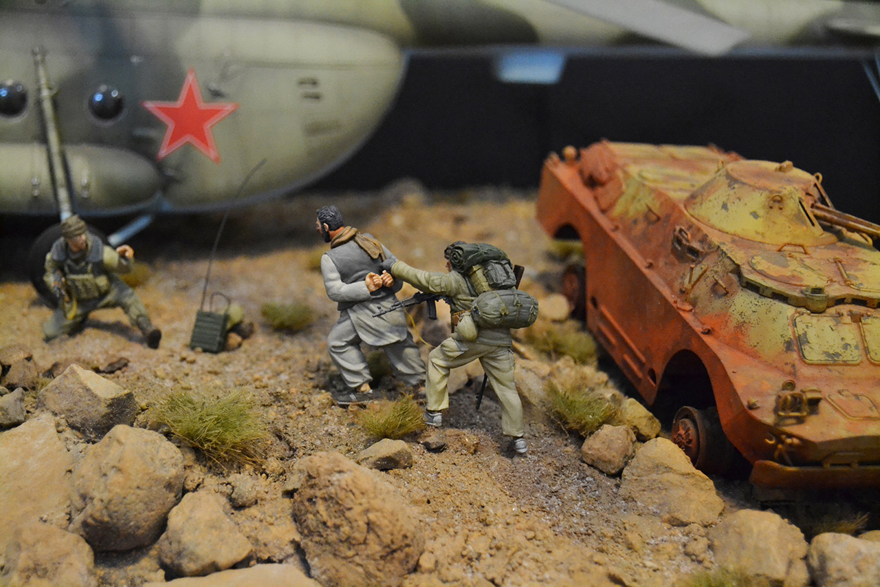 Dioramas and Vignettes: GRU special forces in Afghanistan, photo #14