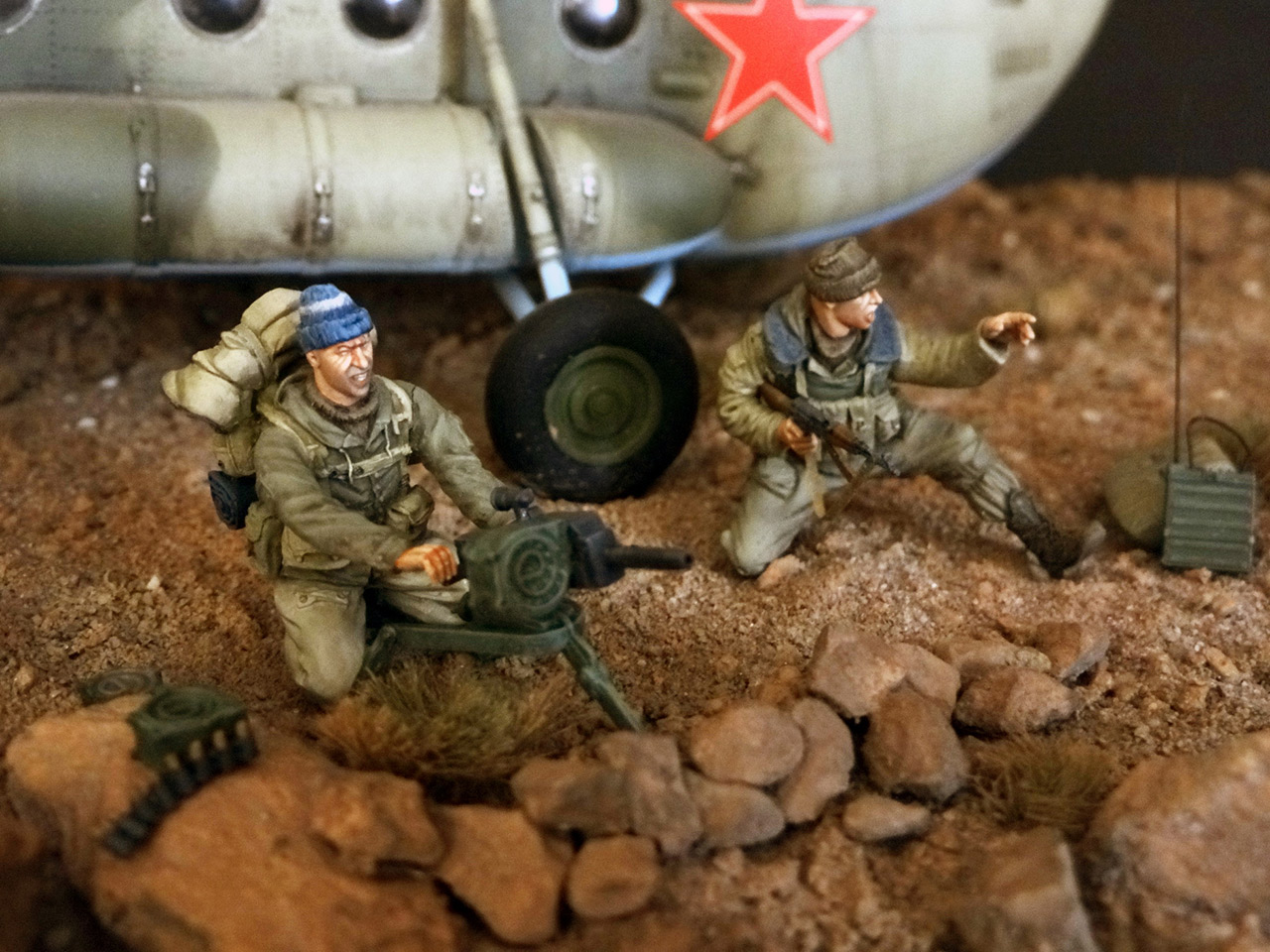 Dioramas and Vignettes: GRU special forces in Afghanistan, photo #16