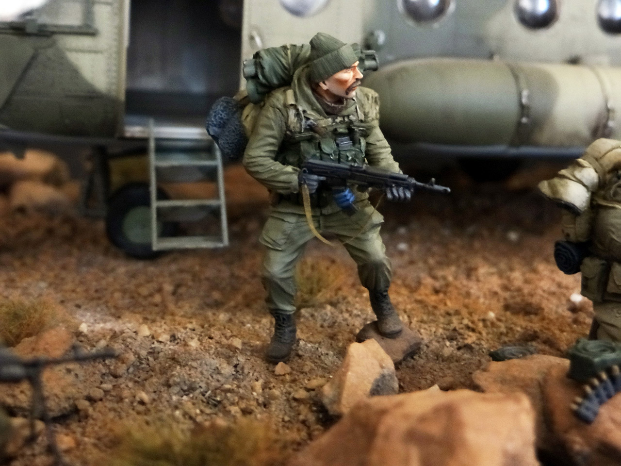 Dioramas and Vignettes: GRU special forces in Afghanistan, photo #18