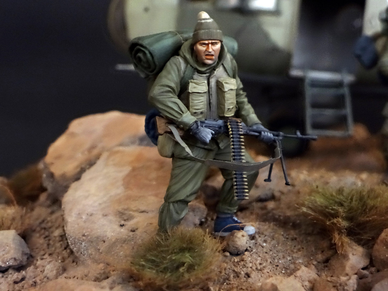 Dioramas and Vignettes: GRU special forces in Afghanistan, photo #19