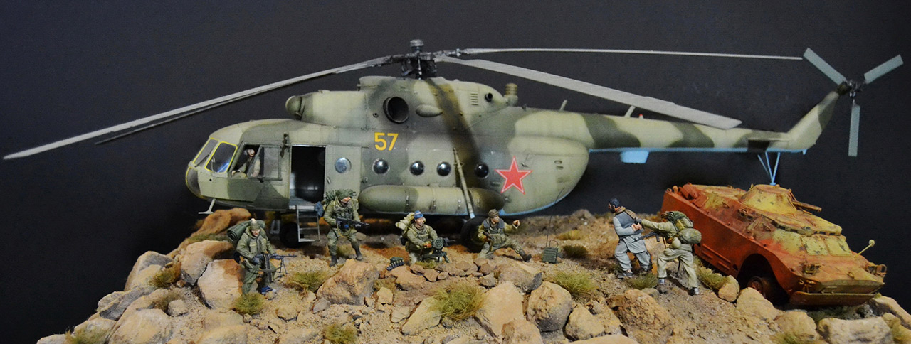 Dioramas and Vignettes: GRU special forces in Afghanistan, photo #2