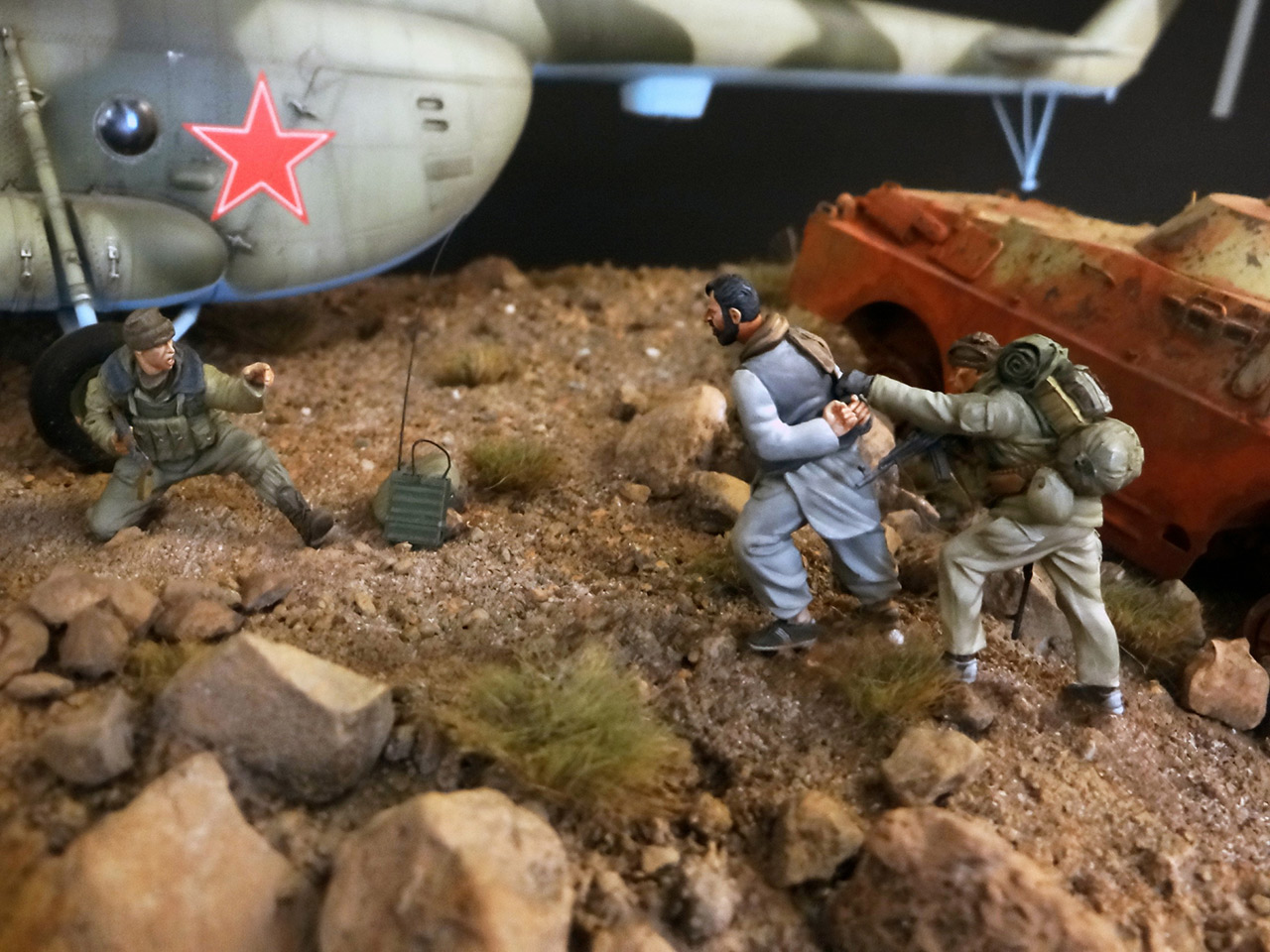 Dioramas and Vignettes: GRU special forces in Afghanistan, photo #21
