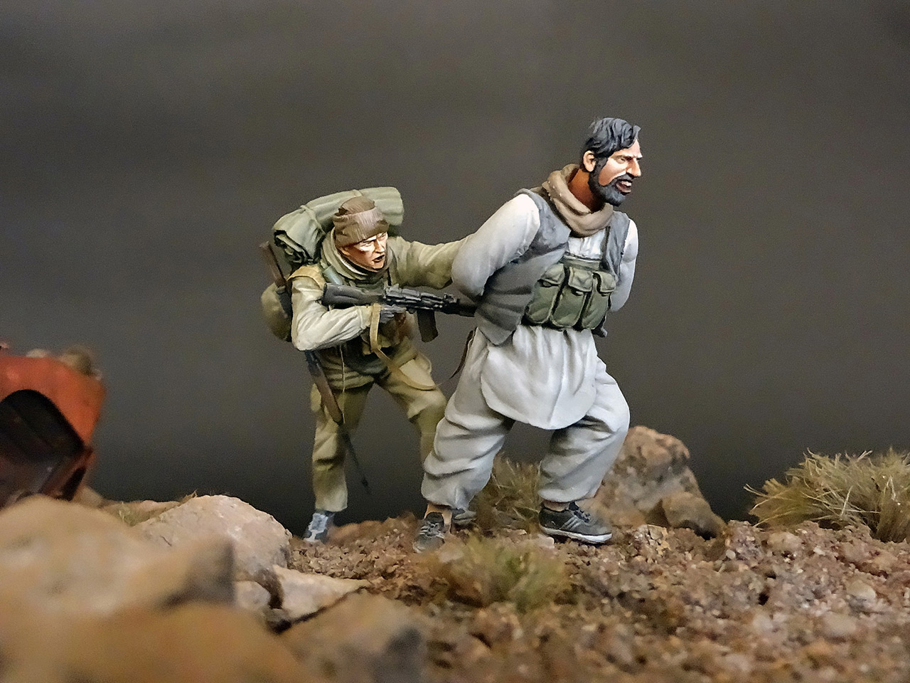 Dioramas and Vignettes: GRU special forces in Afghanistan, photo #22