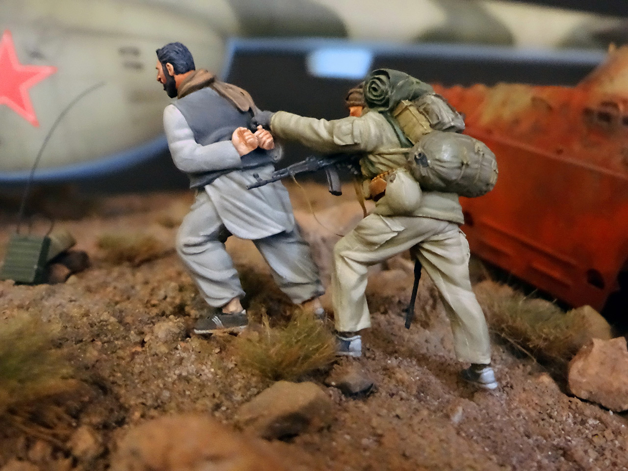 Dioramas and Vignettes: GRU special forces in Afghanistan, photo #23