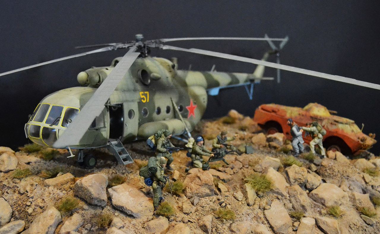 Dioramas and Vignettes: GRU special forces in Afghanistan, photo #3
