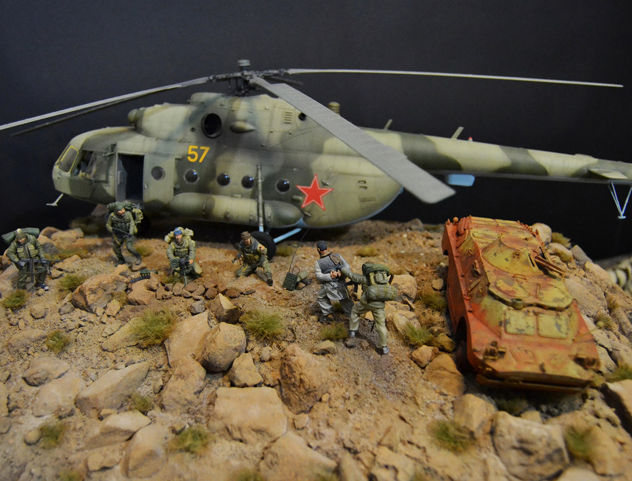 Dioramas and Vignettes: GRU special forces in Afghanistan, photo #4