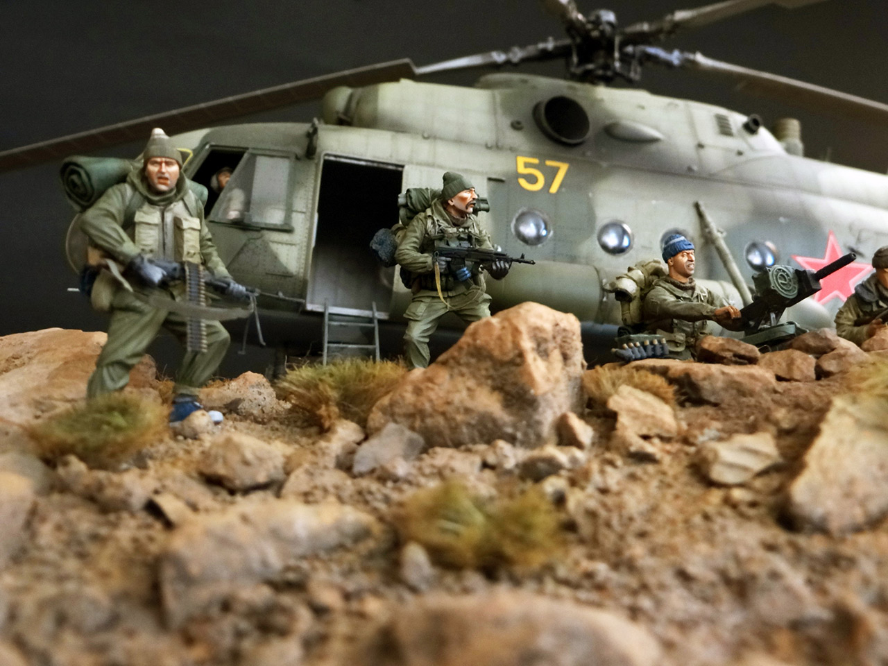 Dioramas and Vignettes: GRU special forces in Afghanistan, photo #7