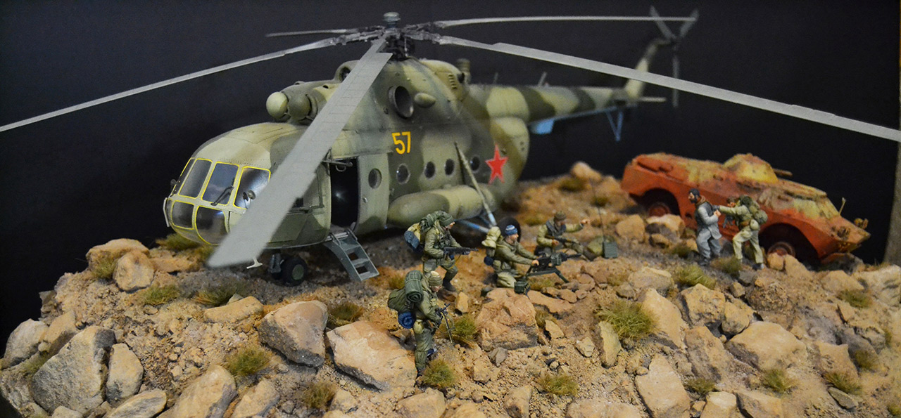 Dioramas and Vignettes: GRU special forces in Afghanistan, photo #8