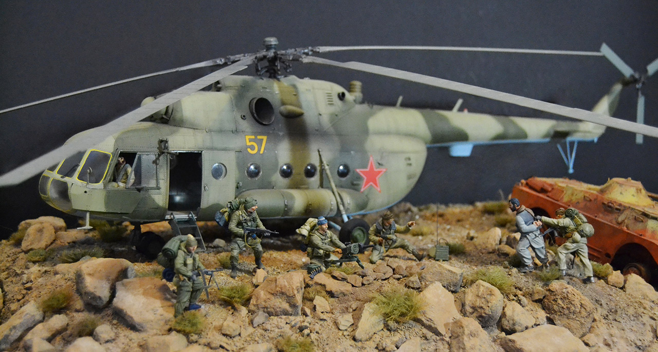 Dioramas and Vignettes: GRU special forces in Afghanistan, photo #9