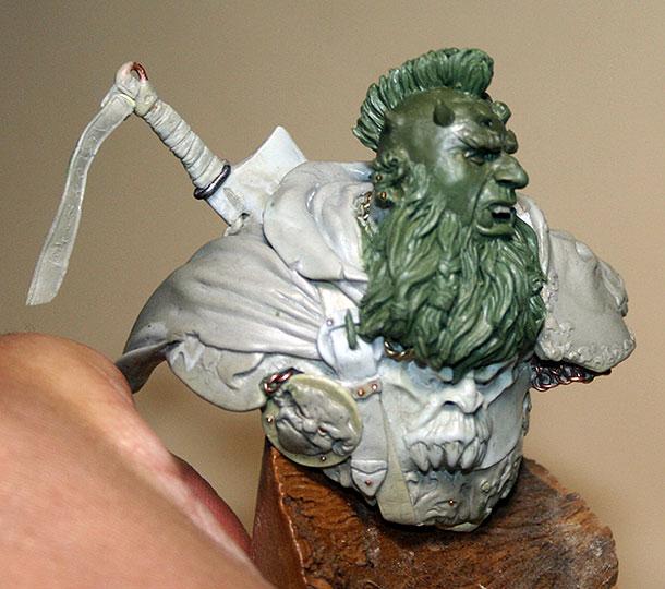 Sculpture: Chaos Dwarf Lord