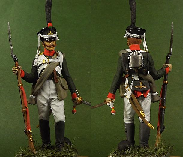 Figures: Grenadier, 2nd btn of Selenginsky infantry regt.