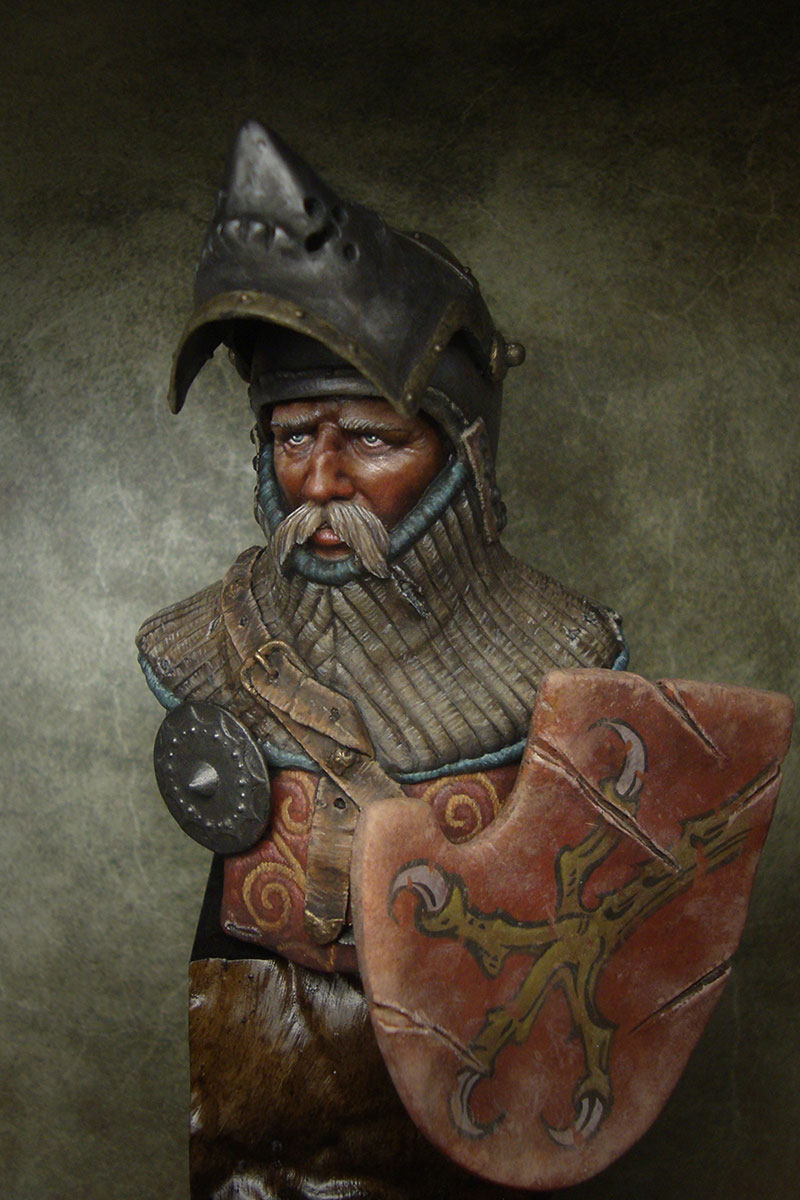 Figures: German knight, XIV-XV cent., photo #1