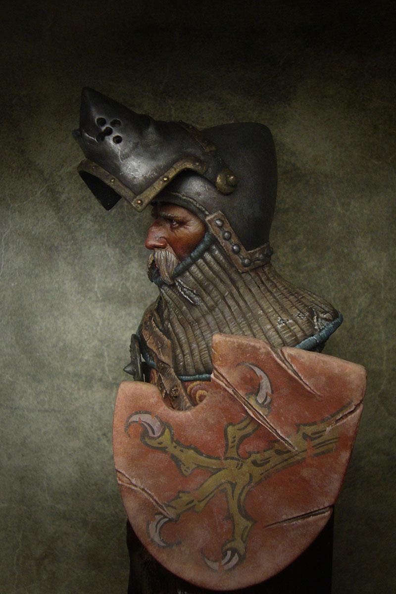 Figures: German knight, XIV-XV cent., photo #2