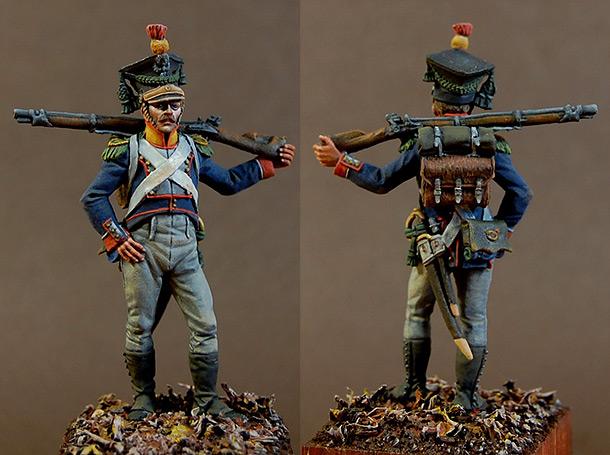 Figures: Voltigeur of 8th infantry regt., Poland