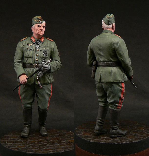 Figures: Generalfeldmarschall Erich von Manstein