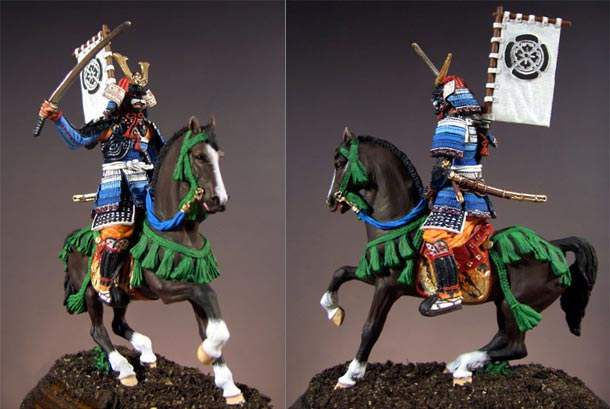Figures: Mounted Samurai, XV century