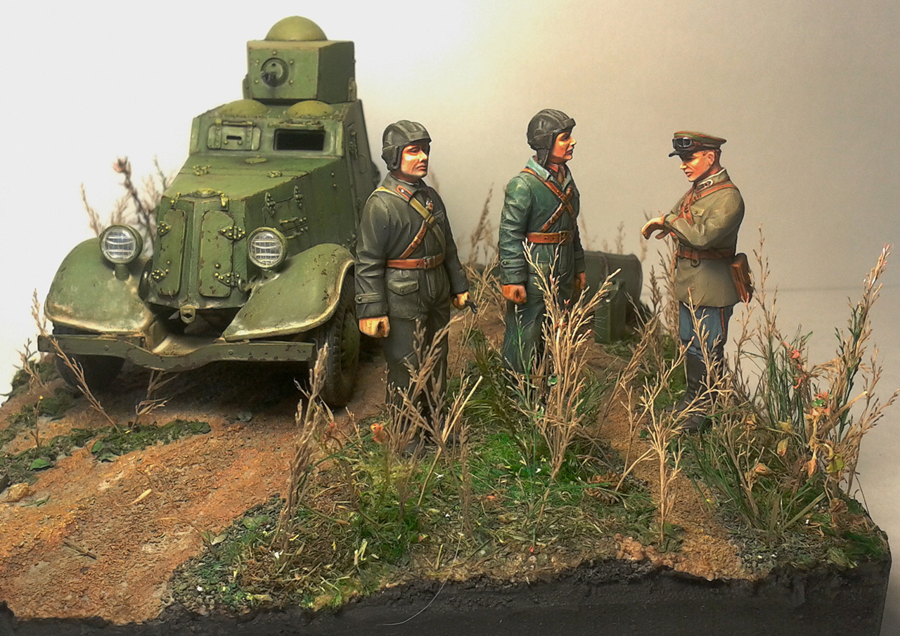 Dioramas and Vignettes: The last command, photo #1