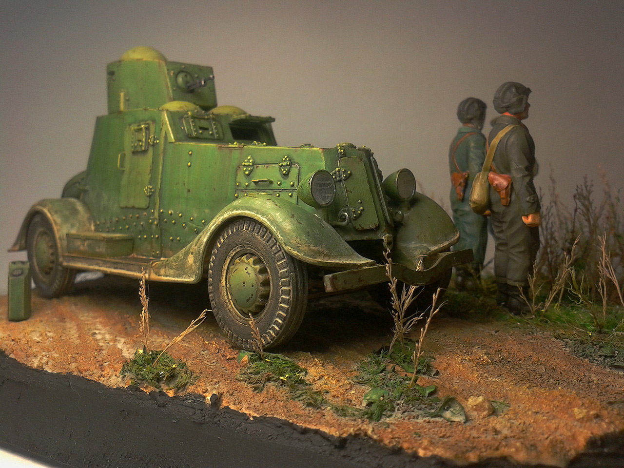 Dioramas and Vignettes: The last command, photo #11
