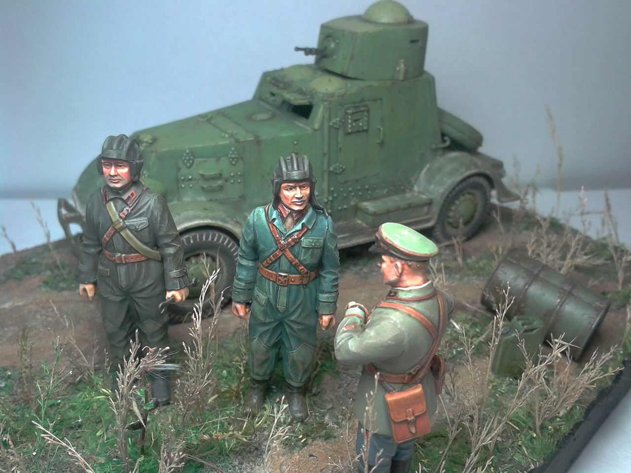 Dioramas and Vignettes: The last command, photo #13