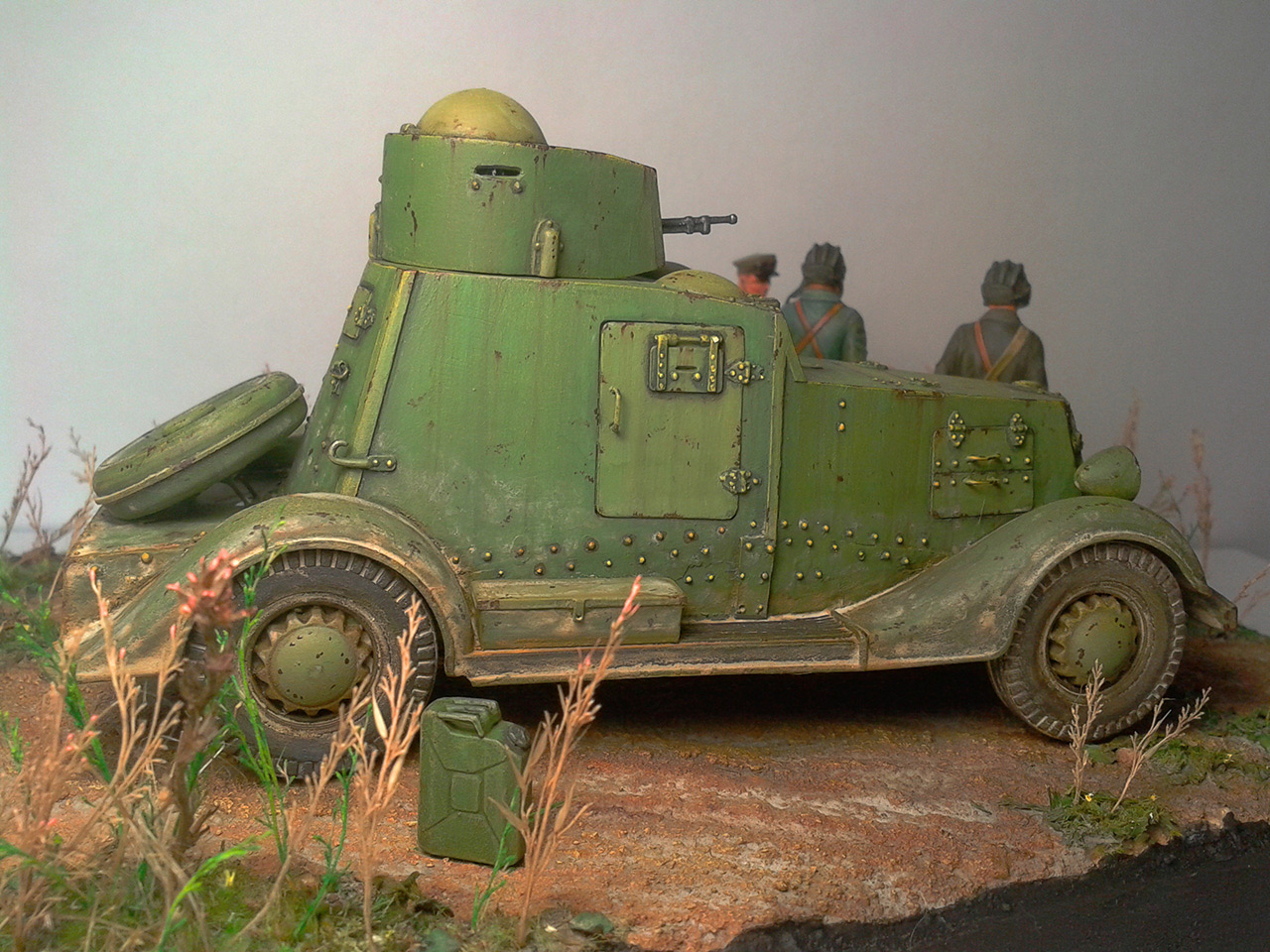 Dioramas and Vignettes: The last command, photo #16
