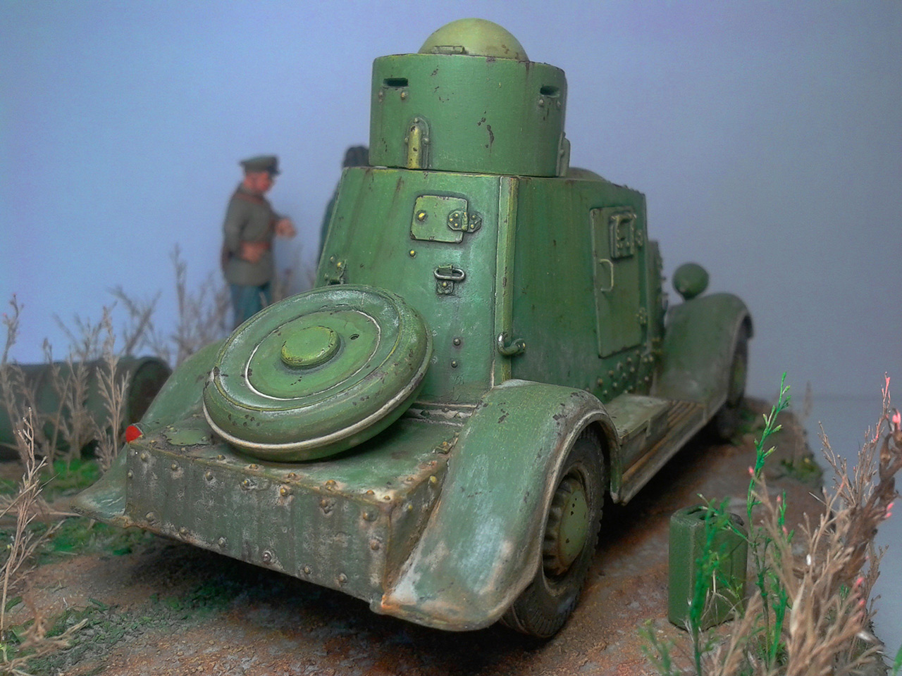 Dioramas and Vignettes: The last command, photo #18