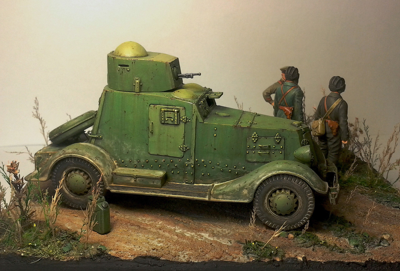 Dioramas and Vignettes: The last command, photo #2