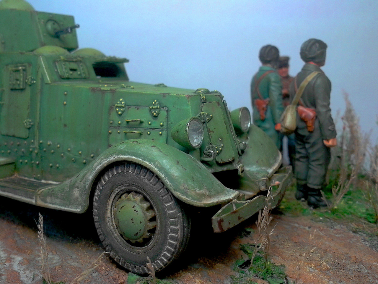 Dioramas and Vignettes: The last command, photo #20