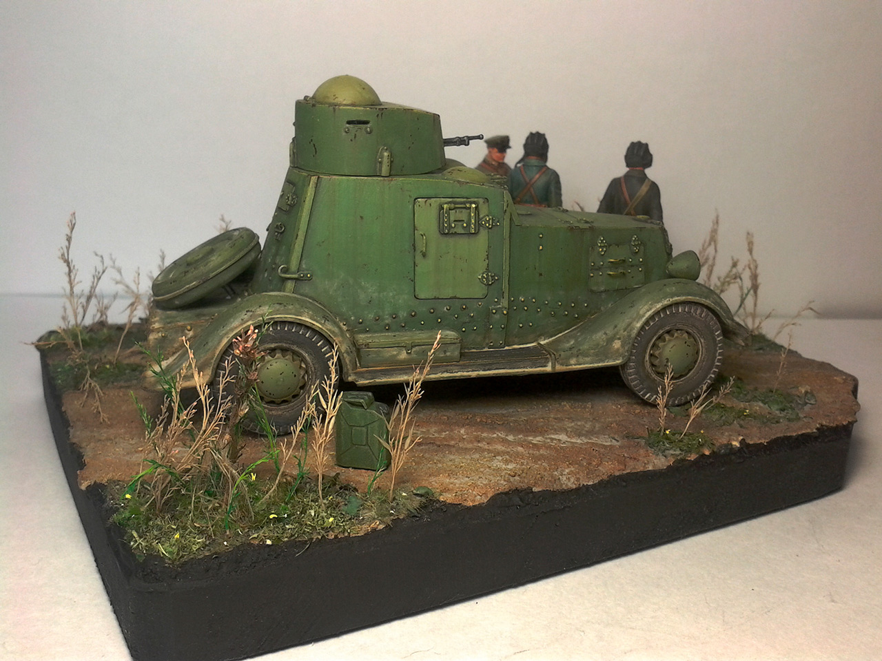 Dioramas and Vignettes: The last command, photo #3