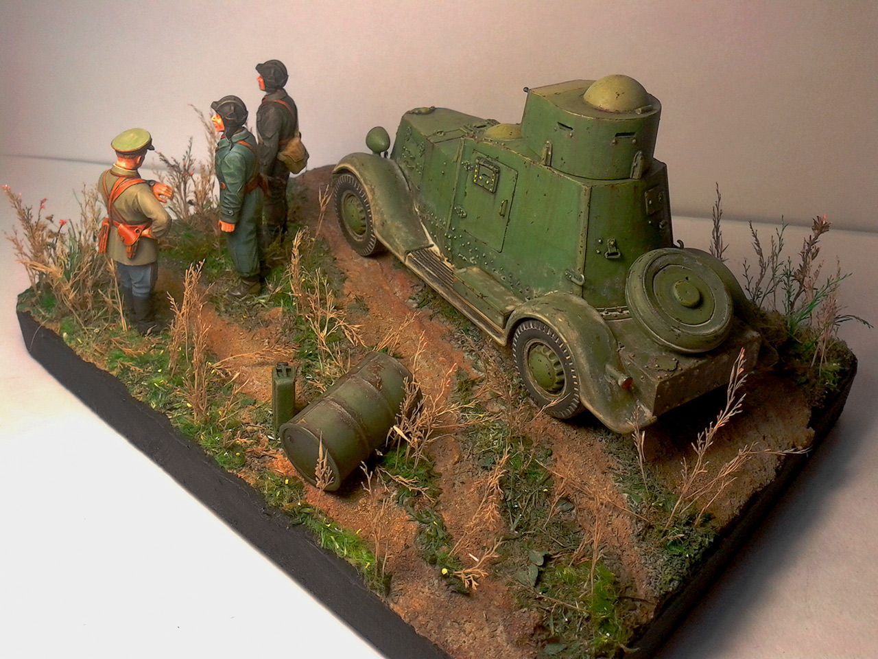 Dioramas and Vignettes: The last command, photo #5