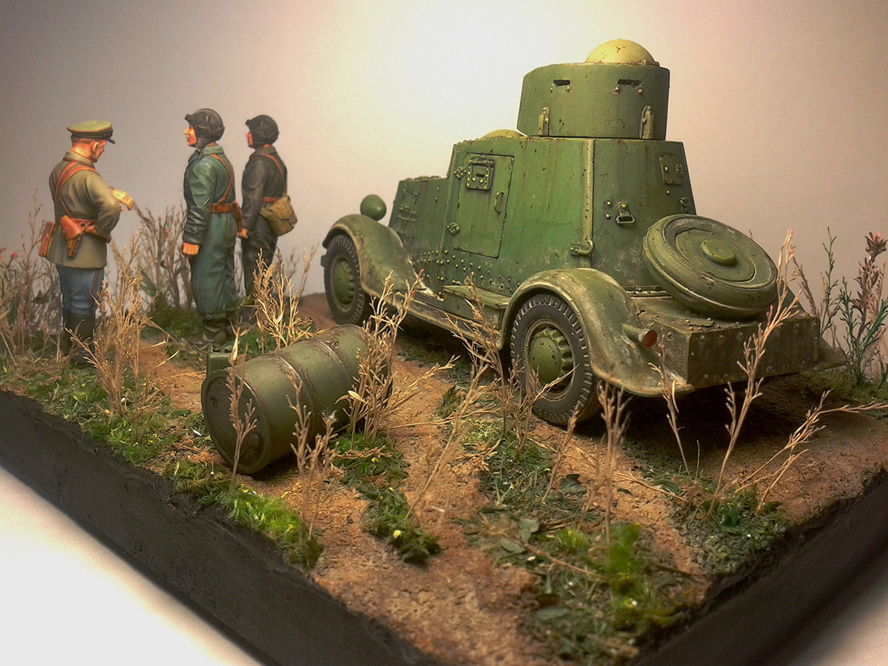 Dioramas and Vignettes: The last command, photo #6