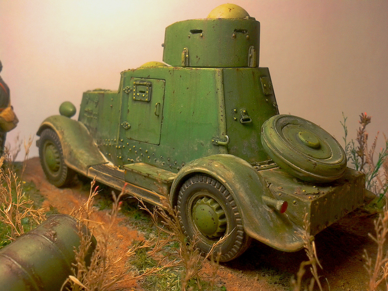 Dioramas and Vignettes: The last command, photo #7