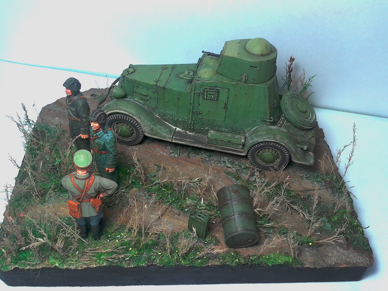 Dioramas and Vignettes: The last command, photo #8