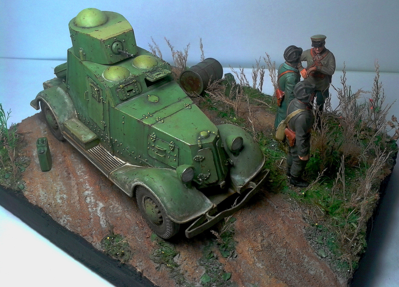 Dioramas and Vignettes: The last command, photo #9