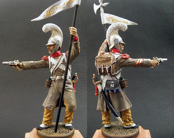 Figures: 3rd eagle bearer, 46th inf.regt. France, 1811-15