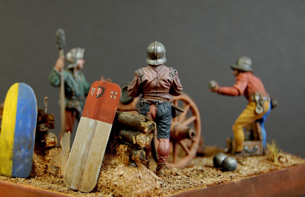 Dioramas and Vignettes: Bombard crew, Europe, XV cent., photo #5