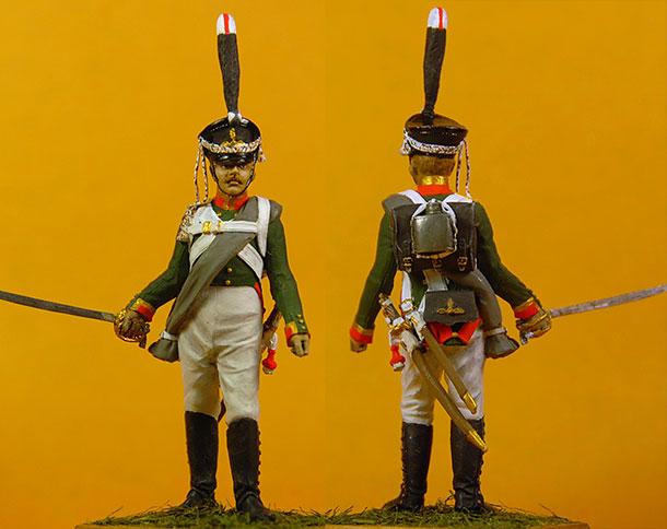 Figures: Corporal, 3rd grenadiers company Selenginsky inf. regt.