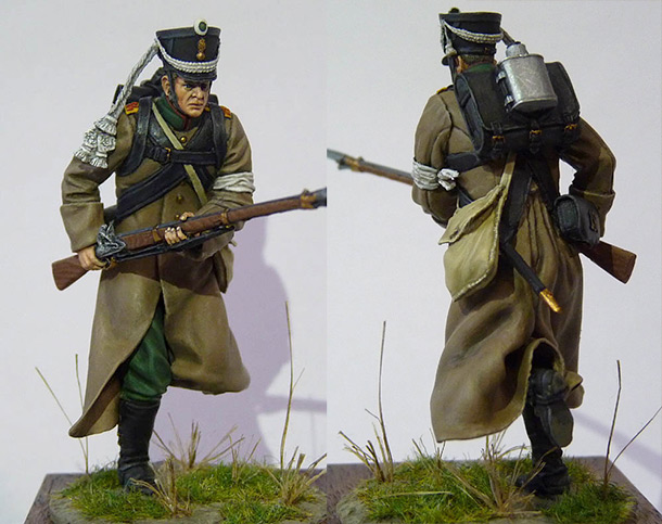 Figures: Private, 19th Chasseurs regt